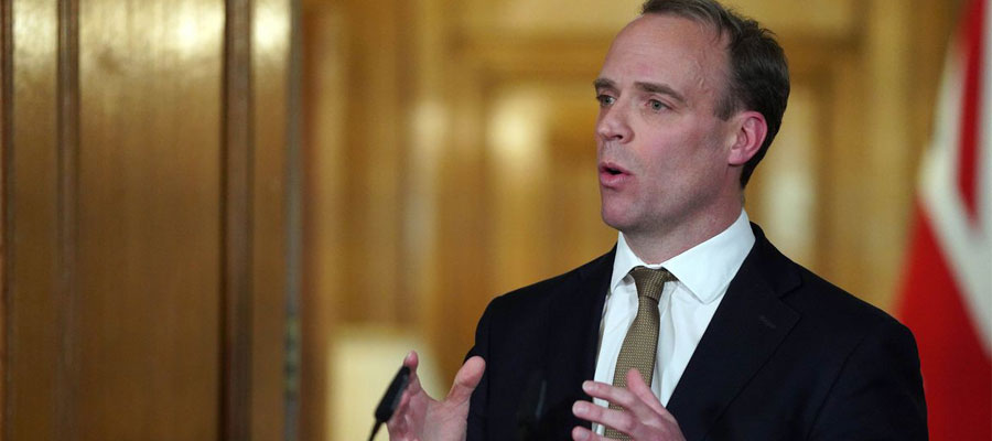 Boris Johnson 'is a fighter' and will be back at the helm to lead us through coronavirus crisis, Dominic Raab says